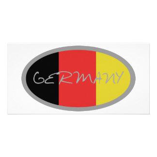 ¡Diseño de la bandera de Alemania Tarjetas Personales