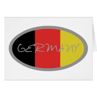 ¡Diseño de la bandera de Alemania Tarjetas