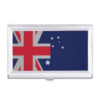 Diseño de la bandera de Australia en estilo del Cajas De Tarjetas De Negocios