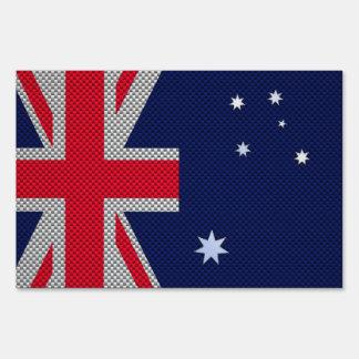 Diseño de la bandera de Australia en estilo del Cartel
