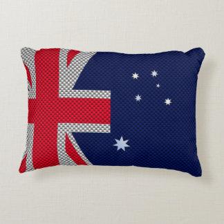 Diseño de la bandera de Australia en estilo del Cojín