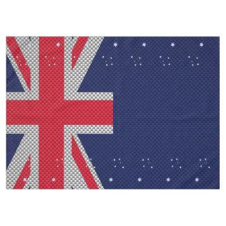 Diseño de la bandera de Australia en estilos del Mantel De Tela