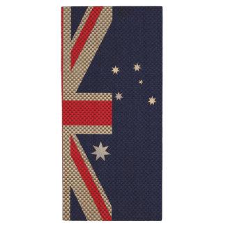 Diseño de la bandera de Australia en estilos del Pen Drive De Madera USB 2.0