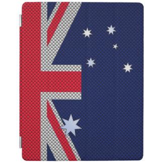Diseño de la bandera de Australia en la decoración Cover De iPad