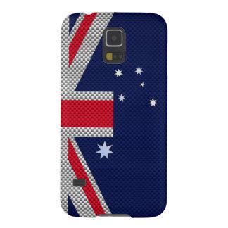 Diseño de la bandera de Australia en la decoración Funda Galaxy S5