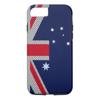 Diseño de la bandera de Australia en la decoración Funda iPhone 7