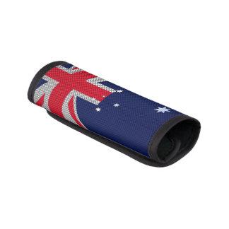 Diseño de la bandera de Australia en la decoración Funda Para Asa De Maleta