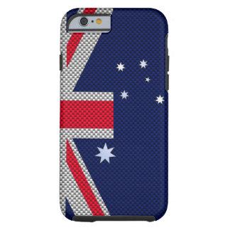 Diseño de la bandera de Australia en la decoración Funda Resistente iPhone 6