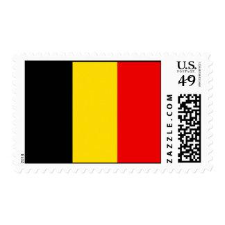 Diseño de la bandera de Bélgica Sellos