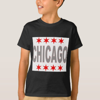 Diseño de la bandera de Chicago Playera