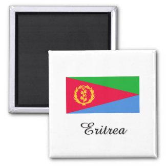 Diseño de la bandera de Eritrea Imán Cuadrado