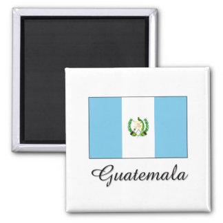 Diseño de la bandera de Guatemala Imanes