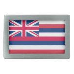 Diseño de la bandera de Hawaii Hebilla Cinturon