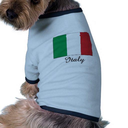 Diseño de la bandera de Italia Ropa Macota