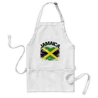 Diseño de la bandera de Jamaica del estilo del Gru Delantal