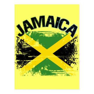 Diseño de la bandera de Jamaica del estilo del Gru Postales