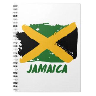 Diseño de la bandera de Jamaica Libro De Apuntes