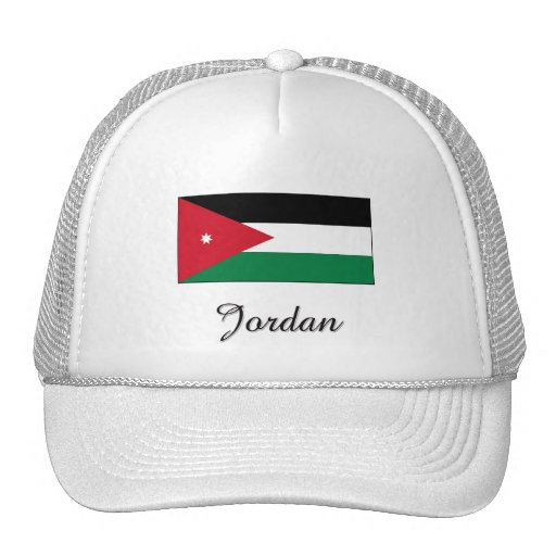 Diseño de la bandera de Jordania Gorro