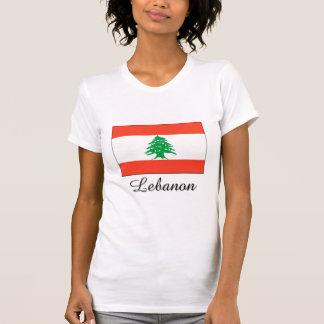 Diseño de la bandera de Líbano Camisetas