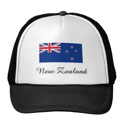 Diseño de la bandera de Nueva Zelanda Gorro