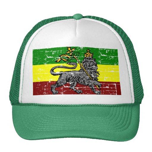 Diseño de la bandera de Rastafarian Gorro