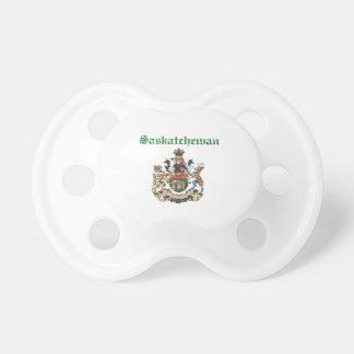Diseño de la bandera de Saskatchewan Canadá Chupetes De Bebé