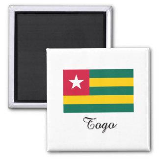 Diseño de la bandera de Togo Imanes Para Frigoríficos