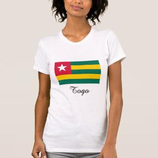 Diseño de la bandera de Togo Camisetas