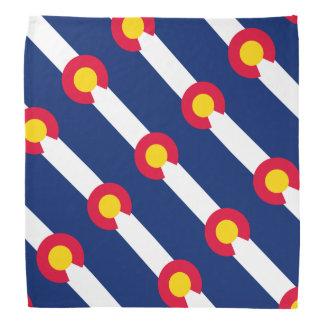 Diseño de la bandera del estado de Colorado Bandanas