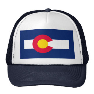 Diseño de la bandera del estado de Colorado Gorras De Camionero