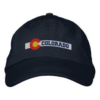 Diseño de la bandera del estado de Colorado Gorra De Beisbol