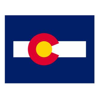 Diseño de la bandera del estado de Colorado Postal