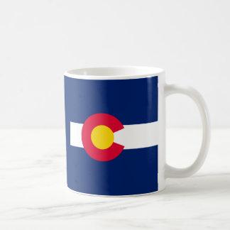 Diseño de la bandera del estado de Colorado Taza De Café