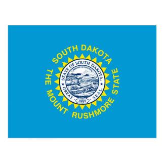 Diseño de la bandera del estado de Dakota del Sur Tarjeta Postal