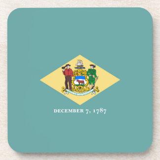 Diseño de la bandera del estado de Delaware Posavasos De Bebidas