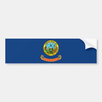 Diseño de la bandera del estado de Idaho Pegatina Para Auto