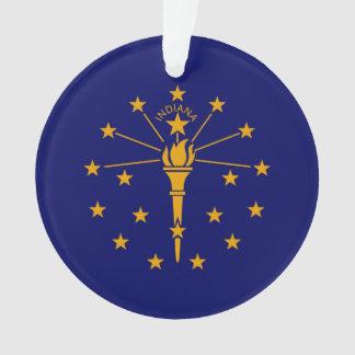 Diseño de la bandera del estado de Indiana