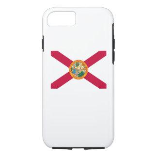 Diseño de la bandera del estado de la Florida Funda iPhone 7