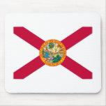 Diseño de la bandera del estado de la Florida Tapetes De Ratón