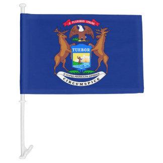 Diseño de la bandera del estado de Michigan