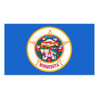 Diseño de la bandera del estado de Minnesota Tarjetas De Visita
