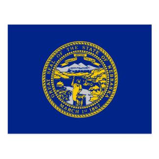 Diseño de la bandera del estado de Nebraska Postal
