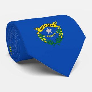 Diseño de la bandera del estado de Nevada Corbatas Personalizadas