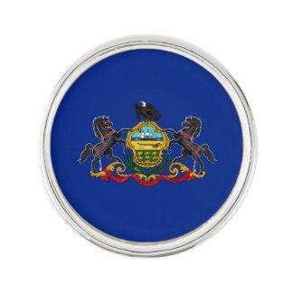 Diseño de la bandera del estado de Pennsylvania Insignia