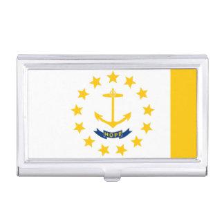 Diseño de la bandera del estado de Rhode Island Cajas De Tarjetas De Presentación