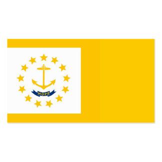 Diseño de la bandera del estado de Rhode Island Tarjetas De Visita