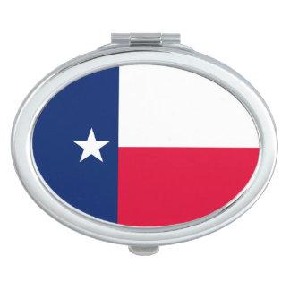 Diseño de la bandera del estado de Tejas Espejos Para El Bolso