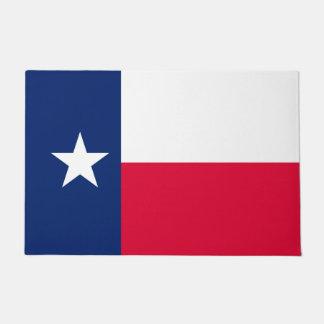 Diseño de la bandera del estado de Tejas Felpudo