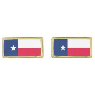 Diseño de la bandera del estado de Tejas Gemelos Dorados