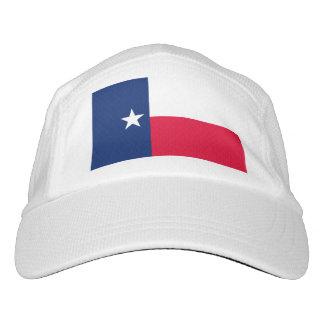 Diseño de la bandera del estado de Tejas Gorra De Alto Rendimiento
